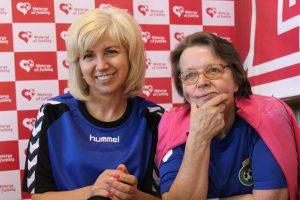 Mama su dukra žaidė čempionate, tačiau skirtingose komandose