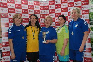 Antrosios vietos laimėtojos - Mokolų ''Černės'' žaidėjos (1)