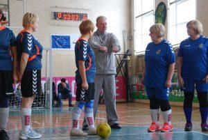 Varžyboms teisėjavo futbolo entuziastas Marius Mastauskas
