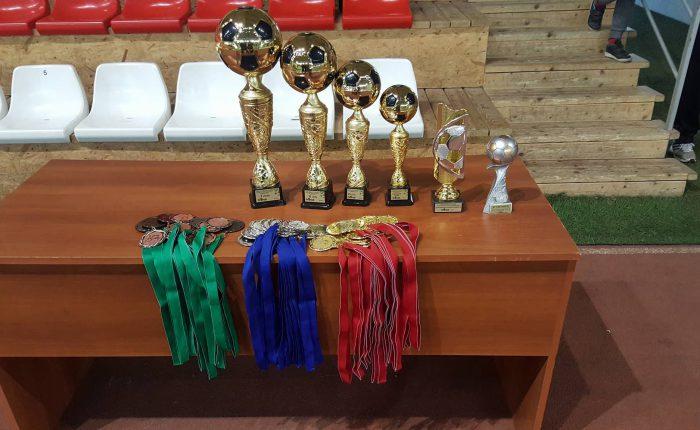 2018 m. Marijampolės savivaldybės atvirų salės futbolo pirmenybių rezultatų lentelė