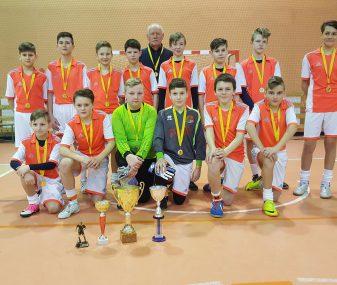 R.Karkos atminimui skirtas vaikų futbolo turnyras Kybartuose