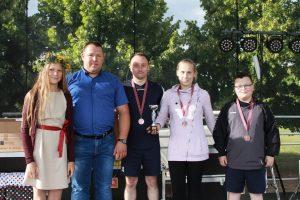Čivinskai iš Lakštučių pasipuošė bronzos medaliais
