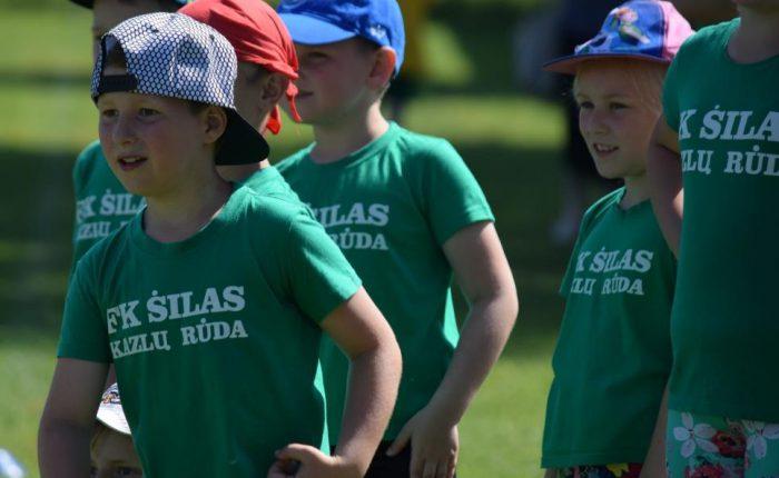 """Vaikų futbolo turnyro """"Vasarą pasitinkant"""" aidai"""
