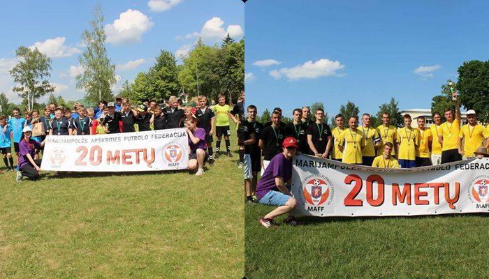 Marijampolės miesto dienų futbolo turnyras 2018