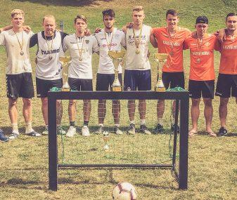 Marijampolėje futbolo mėgėjai mėgavosi 3×3 turnyru