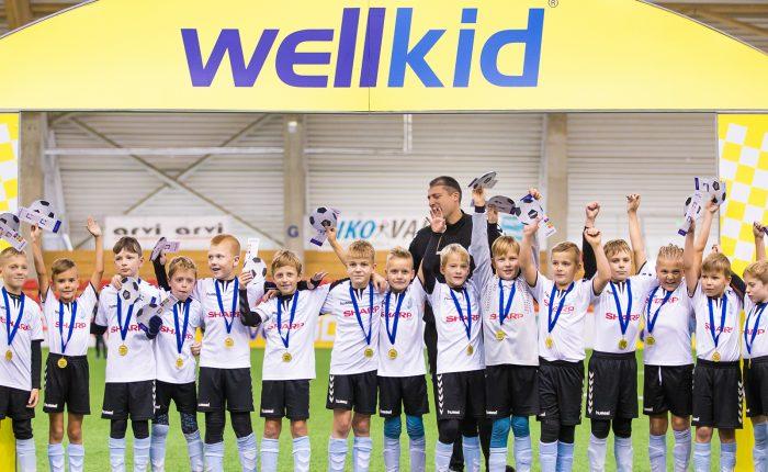 WellKid lygos šventinis turnyras įtraukė jauniausius futbolininkus