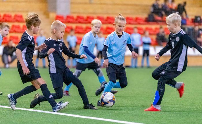 Marijampolę sudrebino tarptautinis vaikų futbolo turnyras – LG Cup 2019