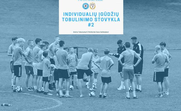 Kviečia registruotis individualių futbolo įgūdžių tobulinimo stovyklai #2