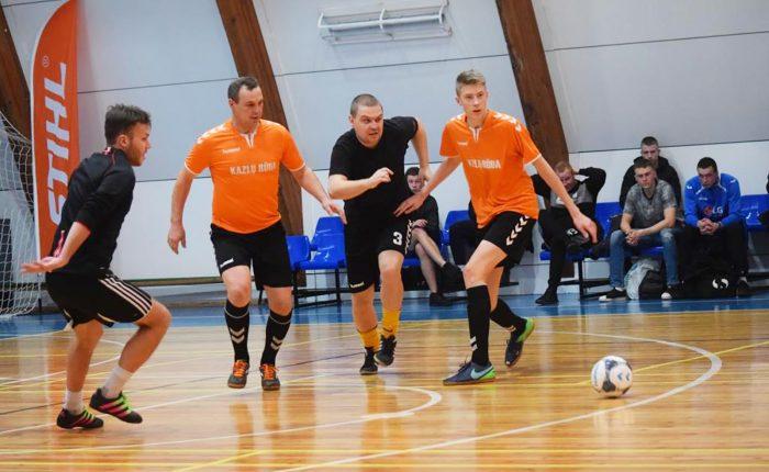 Startavo Marijampolės apskrities futsal pirmenybės