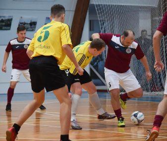MAFF futsal pirmenybėse – be pralaimėjimų metus užbaigė 2 ekipos
