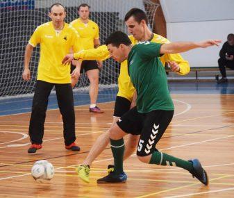 MAFF Futsal pirmenybių V turas pažymėtas įvarčių gausa ir turnyrinių pozicijų rokiruotėmis