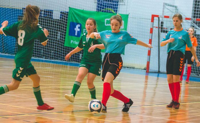 """Baigėsi Marijampolės apskrities merginų futsal žaidynės """"Ladygolas"""""""