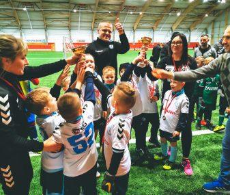 Vaikų futbolo komandos varžėsi dėl Marijampolės savivaldybės taurės